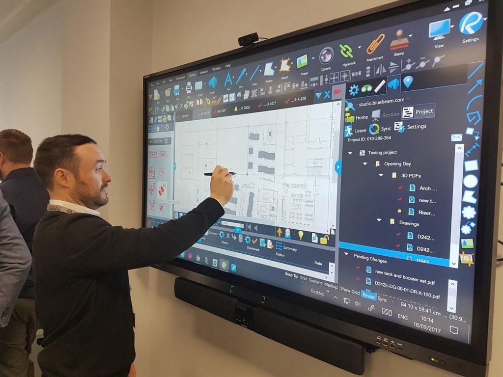 F50 series of interactive displays