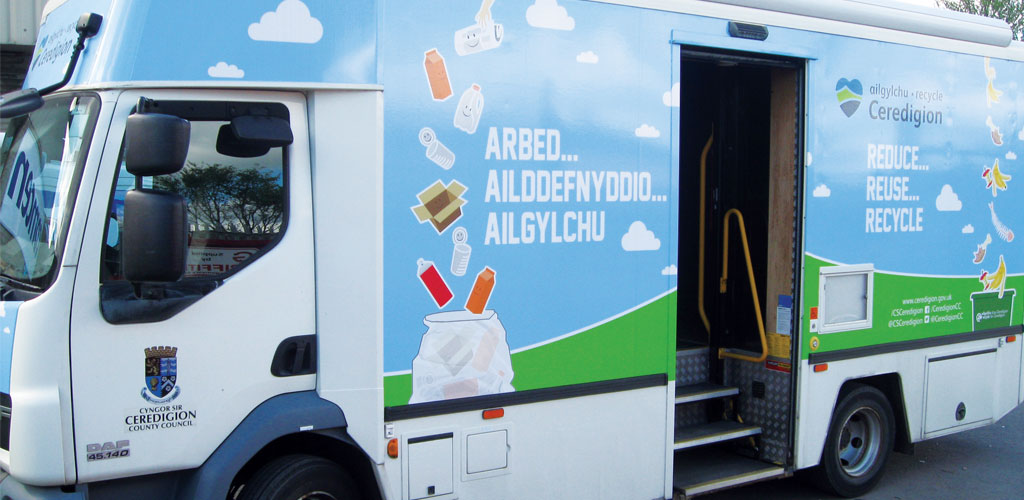 Ceredigion Mobile Education unit
