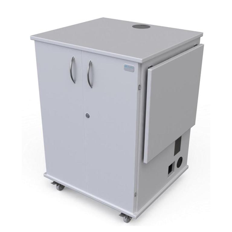 Mobile Shelf AV Cabinet - Quadra Magic